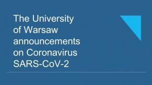 UW Announcements
